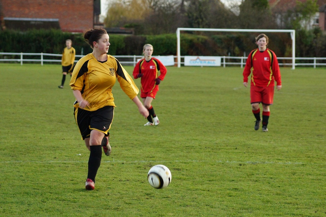 Photo of the women's team playing