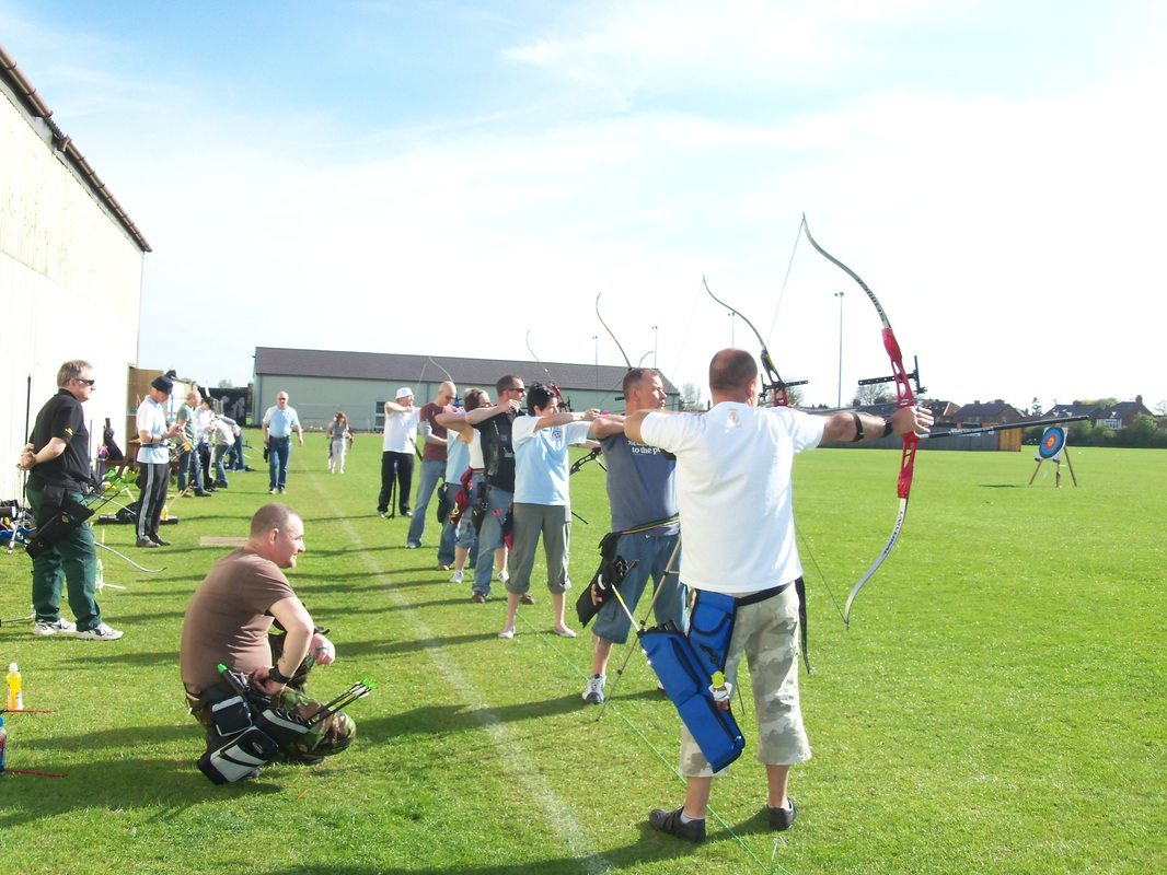 Photo of Norton Archers shooting outside