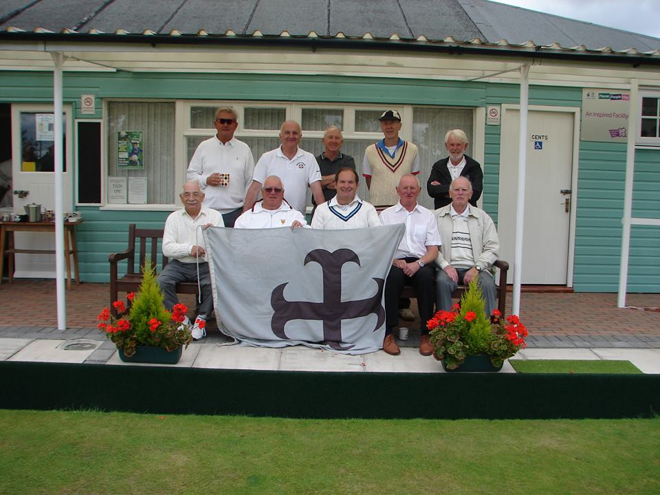 Photo of the bowls pavilion following the President's Challenge bowls match