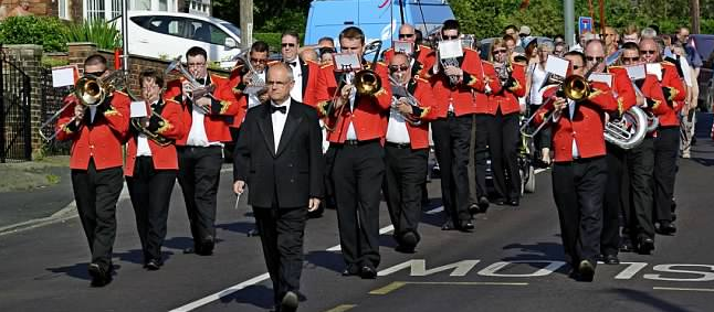 Photo of Billingham Silver Band performing